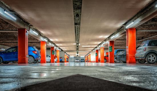 Parkeersystem appartementencomplex