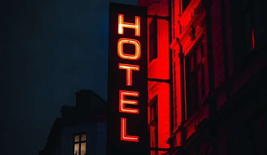 Parkeersysteem hotel