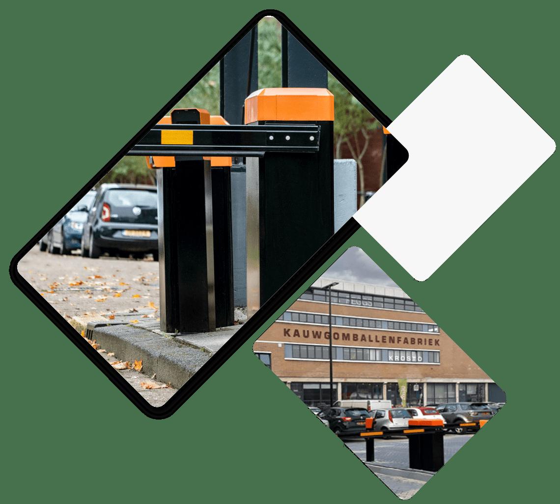 parkeersysteem bedrijfsverzamelgebouw