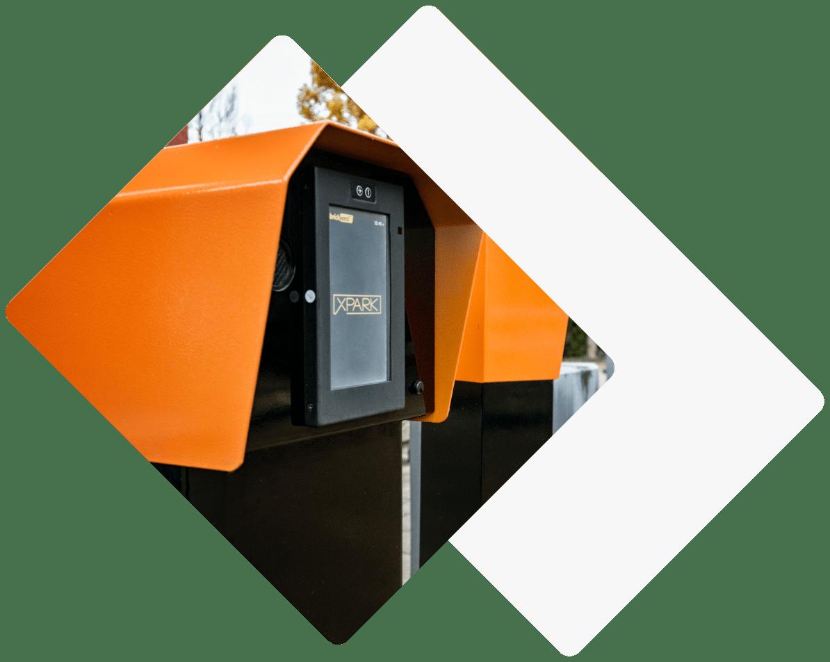 parkeersysteem voor beheerders parkeerterrein